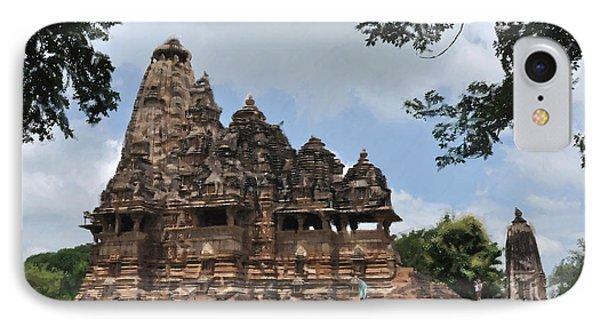 Khajuraho Temples 4 IPhone Case