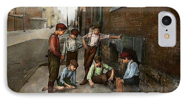 Kids - Cincinnati Oh - A Shady Game 1908 IPhone Case