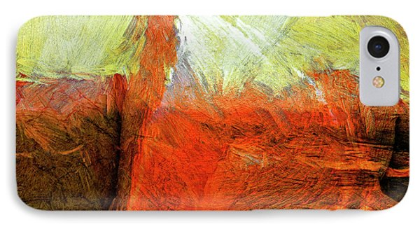 IPhone Case featuring the painting Kilauea by Dominic Piperata