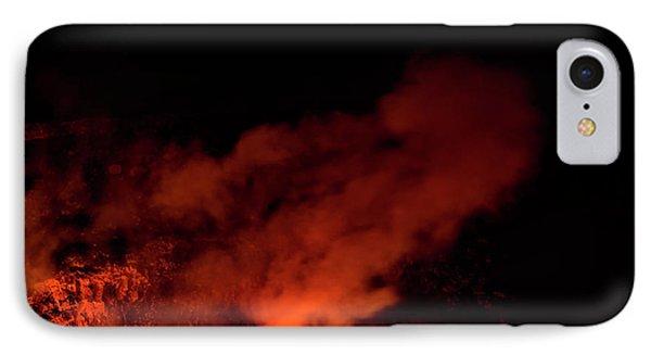 Kilauea Halema'uma'u Crater IPhone Case by Jim Thompson