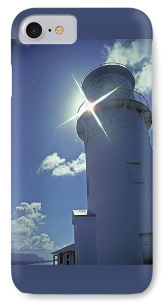 IPhone Case featuring the photograph Kilauea Lighthouse by Marie Hicks