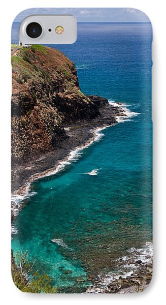 Kilauea Lighthouse IPhone Case by Roger Mullenhour