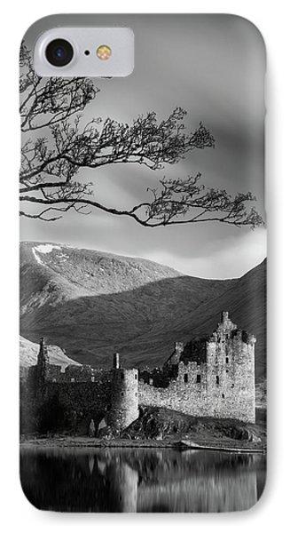 Kilchurn Castle IPhone Case by Dave Bowman