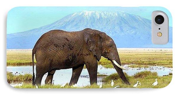 Kilimanjaro Mountain IPhone Case