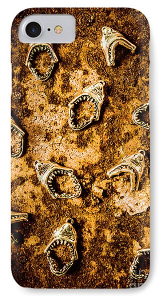 Killer Shark Jaws  IPhone Case by Jorgo Photography - Wall Art Gallery