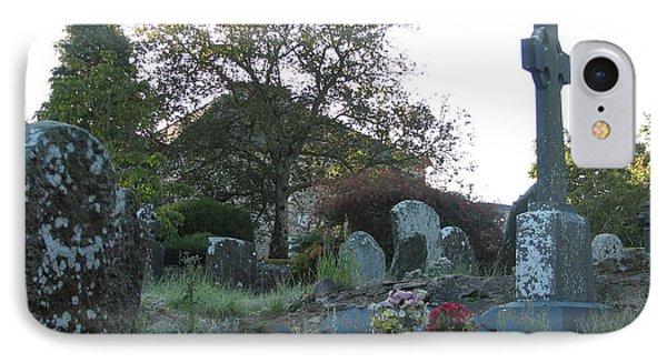 Kilmokea Graveyard IPhone Case by Kelly Mezzapelle