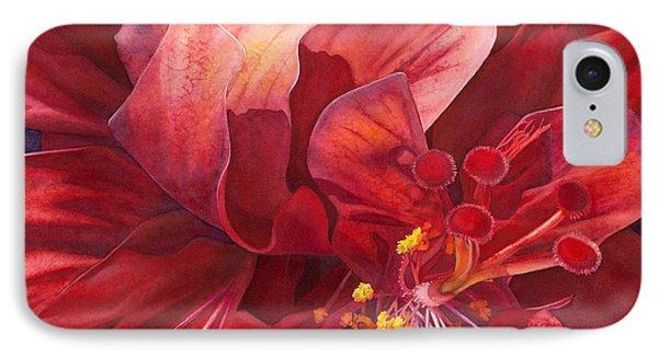Kilauea's Kiss IPhone Case by Sandy  Haight
