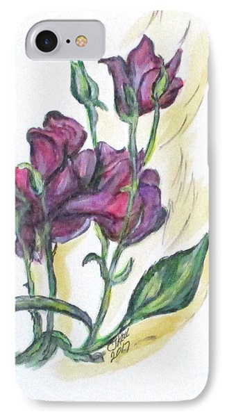 Kimberly's Spring Flower IPhone Case by Clyde J Kell