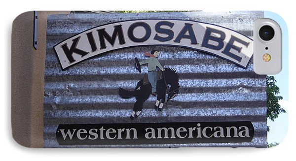 Kimosabe Phone Case by Mary Rogers