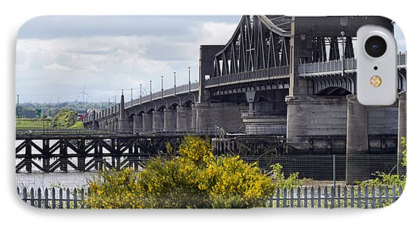 IPhone 7 Case featuring the photograph Kincardine Bridge by Jeremy Lavender Photography