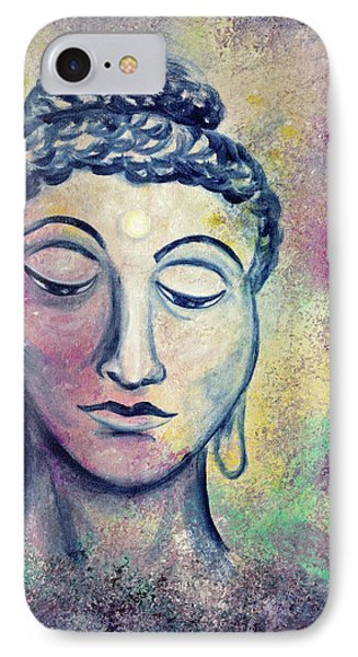 Kind Buddha IPhone Case by Laura Iverson
