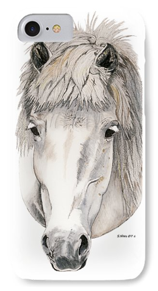 IPhone Case featuring the painting Kind Eyes by Shari Nees