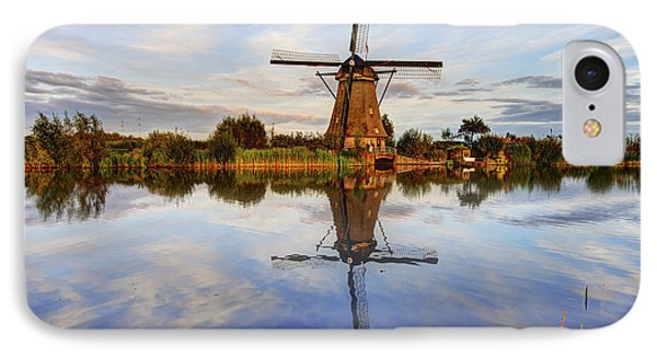 Kinderdijk IPhone Case by Chad Dutson
