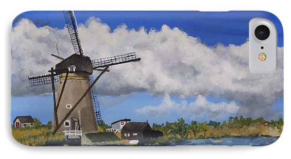 Kinderdijk IPhone Case by Diane Arlitt