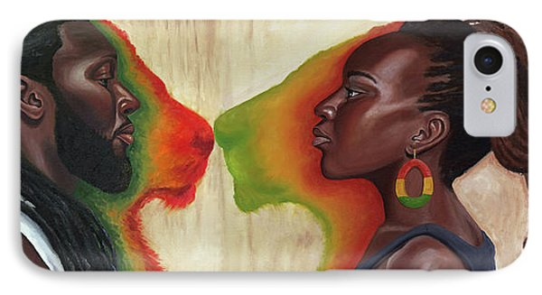 King And Queen IPhone Case by Kavion Robinson