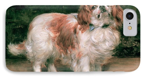 King Charles Spaniel IPhone Case by George Sheridan Knowles