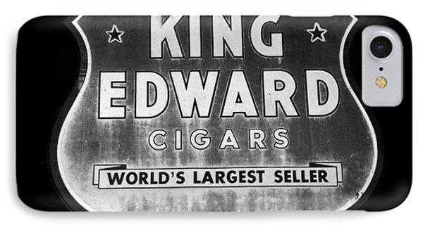 King Edward Cigars Phone Case by David Lee Thompson