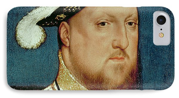 King Henry Viii IPhone Case by Hans Holbein the Younger