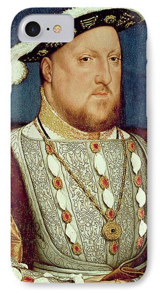 King Henry Viii  IPhone Case by Hans Holbein