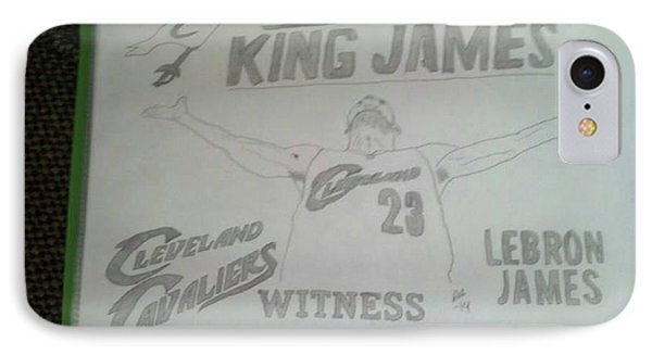 King James IPhone Case