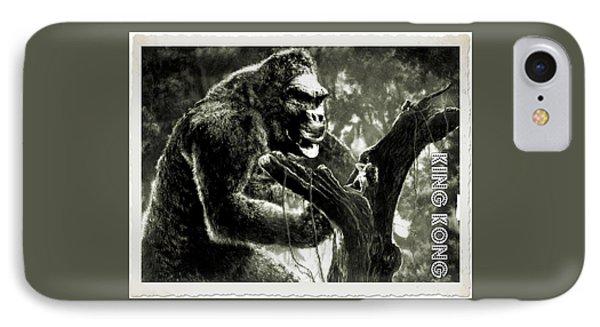 King Kong IPhone Case by John Springfield