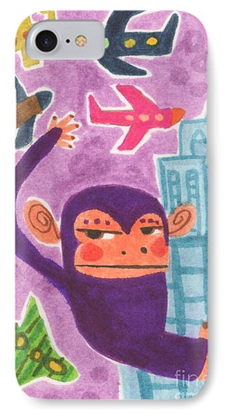 King Kong Phone Case by Kate Cosgrove
