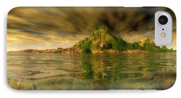King Kongs Island IPhone Case