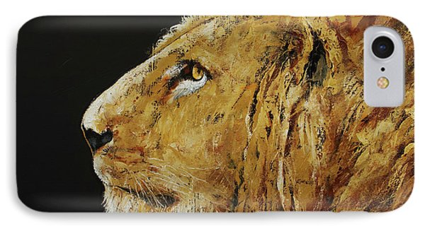 King IPhone Case by Michael Creese