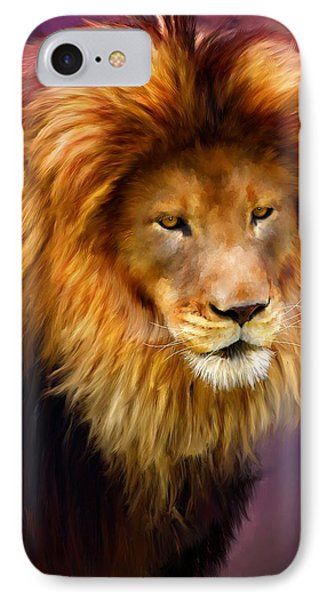 King Phone Case by Michael Greenaway