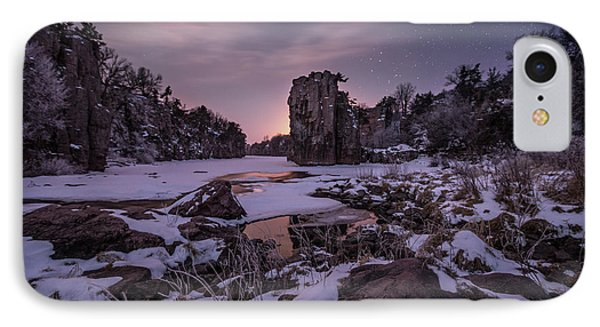 IPhone Case featuring the photograph King Of Frost by Aaron J Groen