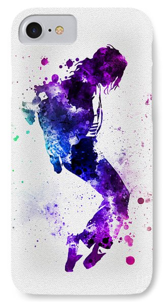 King Of Pop IPhone Case by Rebecca Jenkins