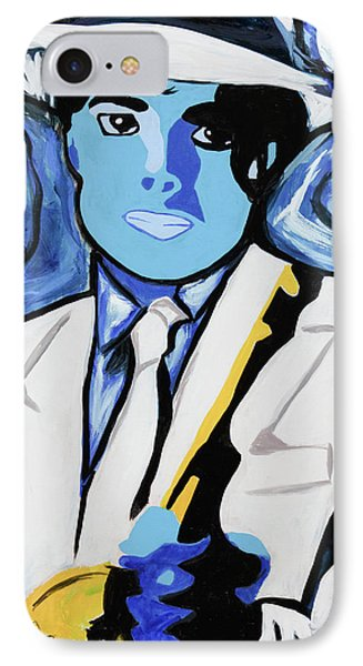 King Of Pop With Gun IPhone Case by SL Elevate