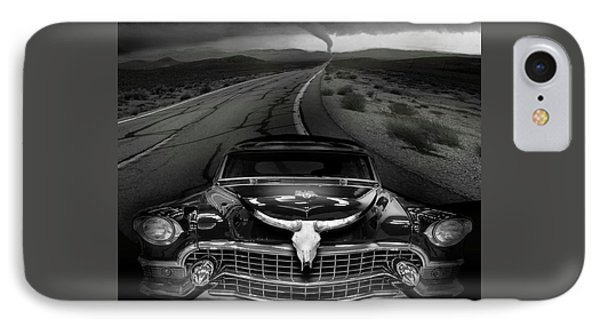 King Of The Highway Phone Case by Larry Butterworth