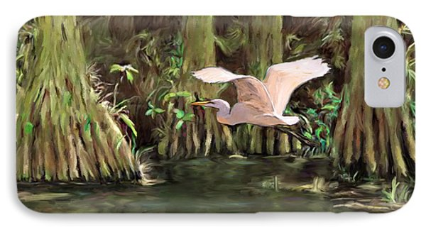 King Of The Swamp IPhone Case by David  Van Hulst