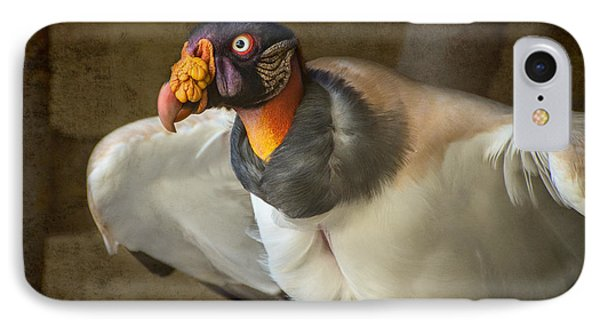 King Vulture IPhone Case by Jamie Pham