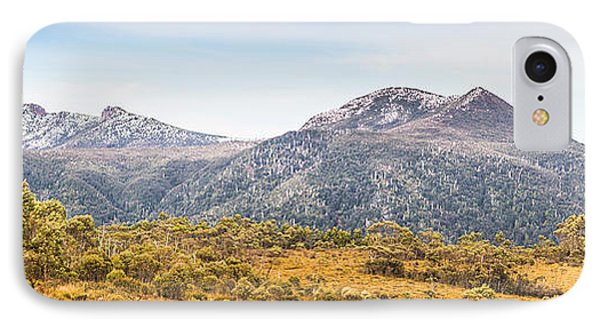 King William Range. Australia Mountain Panorama IPhone Case by Jorgo Photography - Wall Art Gallery