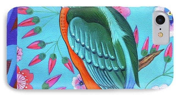 Kingfisher IPhone Case by Jane Tattersfield