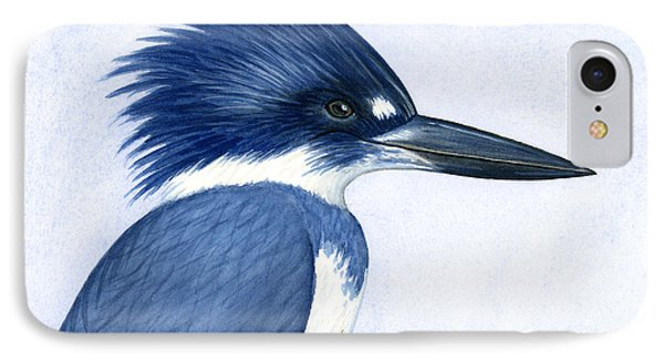 Kingfisher Portrait IPhone Case by Charles Harden