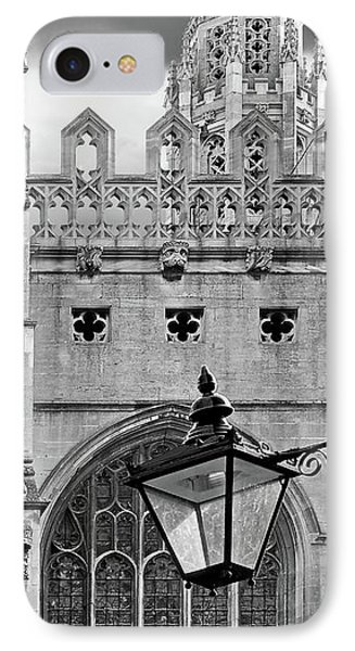 IPhone Case featuring the photograph Kings College Chapel Cambridge Exterior Detail by Gill Billington