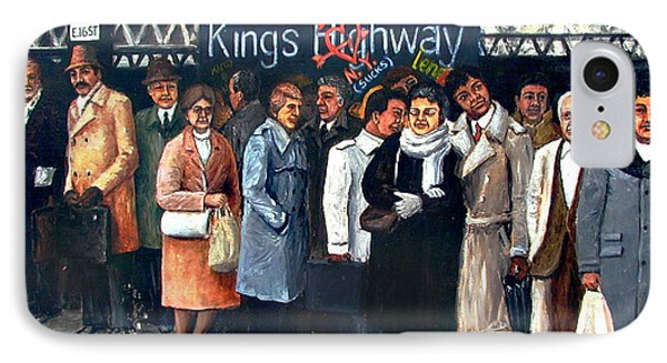 Kings Highway Subway Station IPhone Case