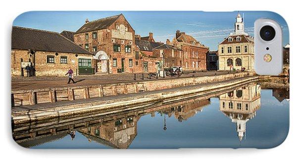 Kings Lynn Purfleet Quay In Norfolk IPhone Case by Simon Bratt Photography LRPS
