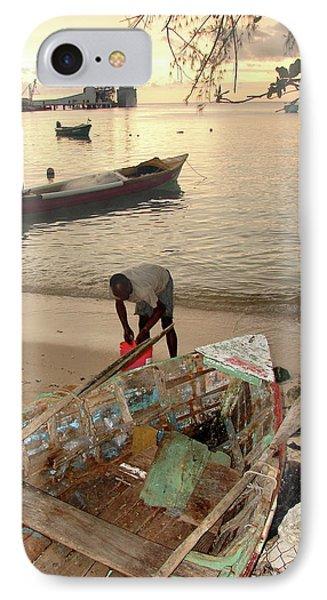 Kingston Jamaica Beach IPhone Case