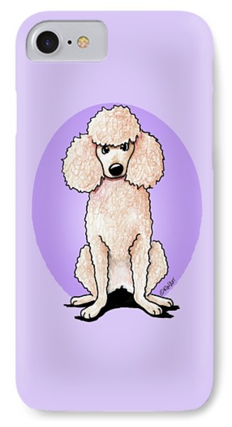 Kiniart Poodle Phone Case by Kim Niles