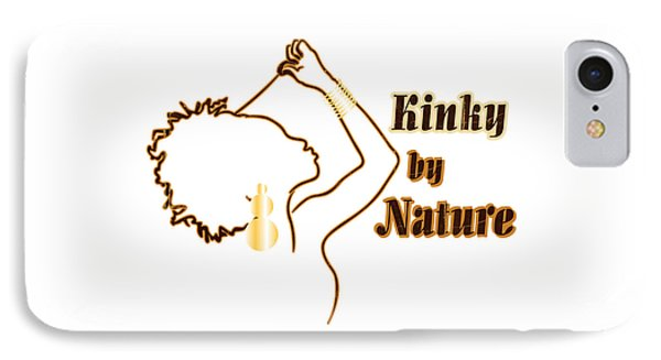 Kinky By Nature Phone Case by Rachel Natalie Rawlins