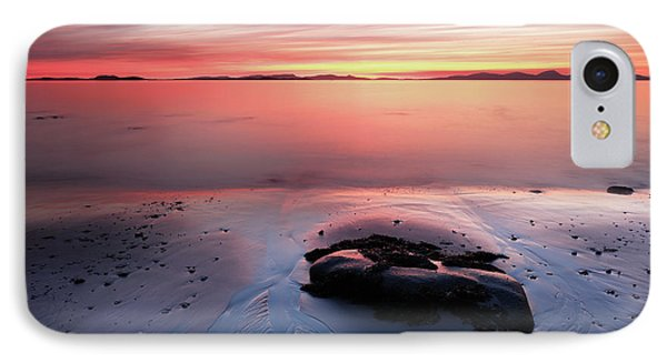 IPhone Case featuring the photograph Kintyre Rocky Sunset 5 by Grant Glendinning