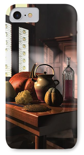Kinzeliin Still Life 1 IPhone Case by Dave Luebbert