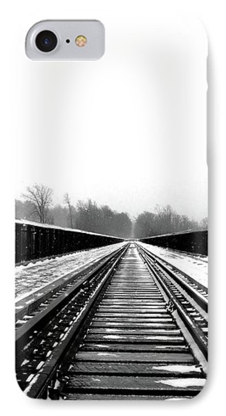 Kinzua Bridge Skywalk IPhone Case by Sharon Batdorf