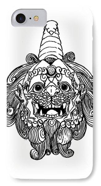 Kirin Head II IPhone Case by Shih Chang Yang