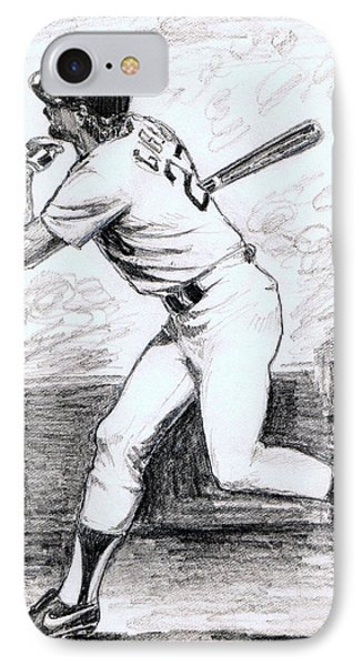 Kirk Gibson IPhone Case by Mel Thompson
