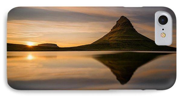 Kirkjufell Reflection Phone Case by Swen Stroop
